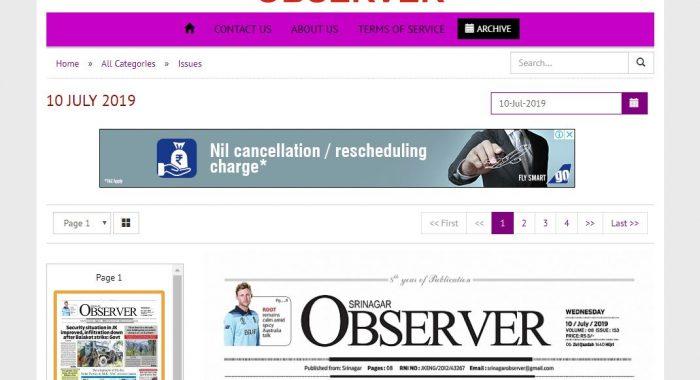 Srinagar Observer