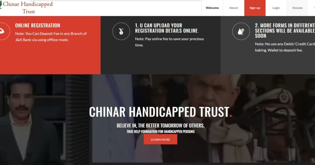 Chinar Handicapped Trust